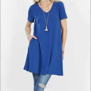 🆕 Swing Tunic With Side Pockets